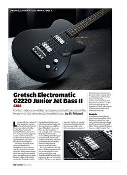 Guitarist Gretsch Electromatic G2220 Junior Jet Bass II