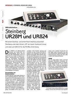KEYS Steinberg UR28M und UR824