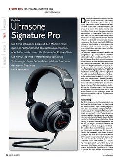 KEYS Ultrasone Signature Pro