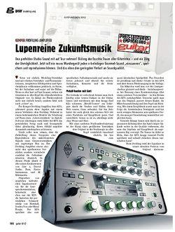 guitar gear Modeling-Amp - Kemper Profiling Amplifier