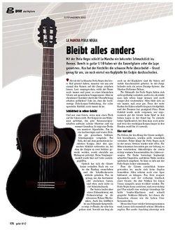 guitar gear Akustikgitarre - La Mancha Perla Negra