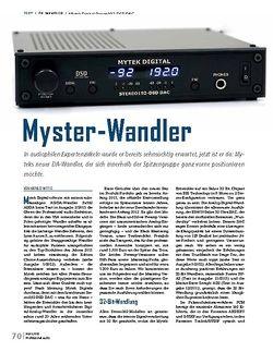 Professional Audio Mytek Digital Stereo192-DSD DAC