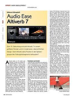 KEYS Audio Ease Altiverb 7