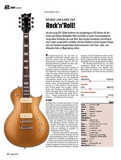 guitar gear E-Gitarre - ESP LTD EC-256P & Viper-256P