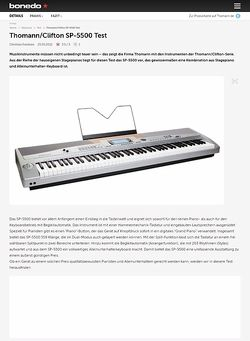 Bonedo.de Thomann/Clifton SP-5500