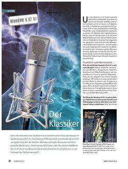 Soundcheck History: Neumann U 87 Ai