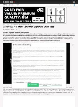 Bonedo.de Gretsch 13 x 6 Mark Schulman Signature Snare