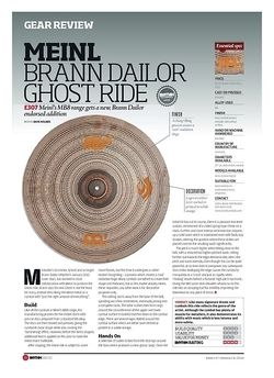 Rhythm MEINL BRANN DAILOR GHOST RIDE
