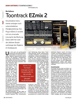 KEYS Toontrack EZmix 2