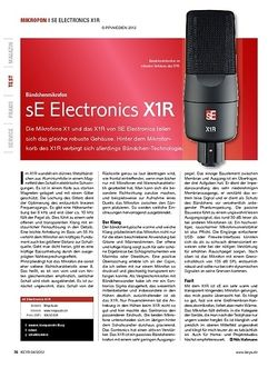 KEYS sE Electronics X1R