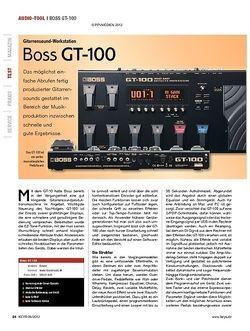 KEYS Boss GT-100