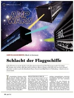 guitar gear-special Amp Wars - Amp-Flaggschiffe: Made in Germany