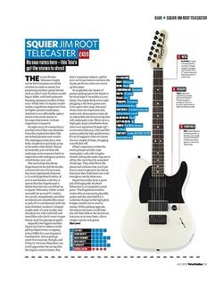 Total Guitar SQUIER JIM ROOT TELECASTER