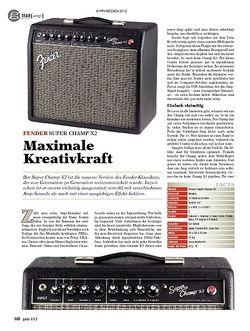 Guitar gear Amp - Fender Super Champ X2