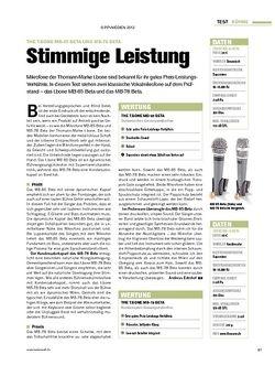 Tastenwelt Test: the t.bone MB-85 Beta und MB-78 Beta - Stimmige Leistung