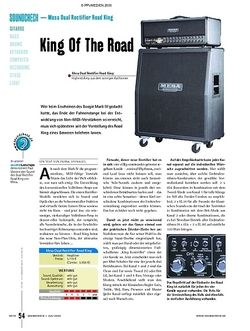 Soundcheck Test - Mesa Dual Rectifier Road King