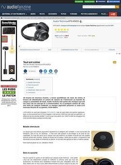 Audiofanzine.com Audio-Technica ATH-ANC9