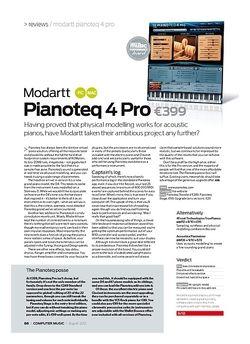 Computer Music Modartt Pianoteq 4 Pro