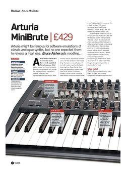 Future Music Arturia MiniBrute