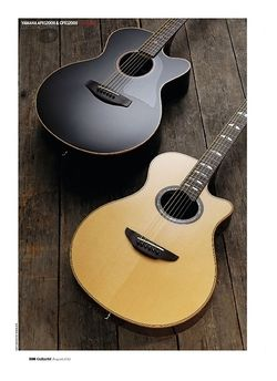 Guitarist Yamaha CPX1200II