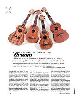 Gitarre & Bass Ortega RFU10SE, RFU11SE, RFU10ZE, RFU11ZE, Ukulelen