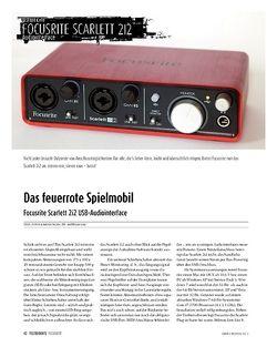 Sound & Recording Focusrite Scarlett 2i2: USB-Audio-Interface