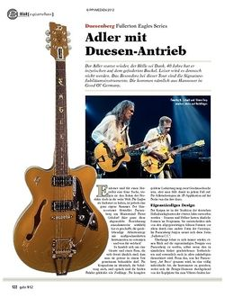 guitar gear E-Gitarre/Bass - Duesenberg Fullerton Eagles Series