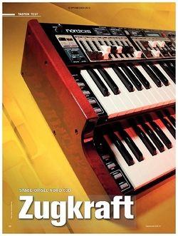 Tastenwelt Test: Stage-Orgel Nord C2D - Zugkraft
