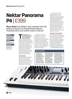 Future Music Nektar Panorama P4