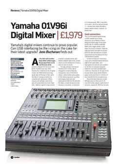 Future Music Yamaha 01V96i Digital Mixer