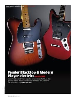 Guitarist Fender Modern Player Telecaster Plus