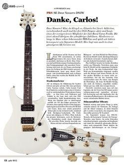 guitar gear E-Gitarre - PRS SE Dave Navarro DNJW