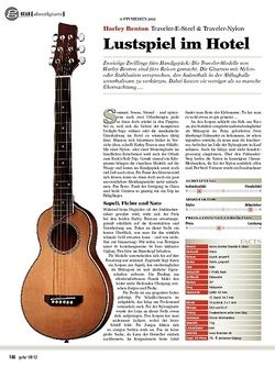 guitar gear Akustikgitarre - Harley Benton Traveler-E-Steel & Traveler-