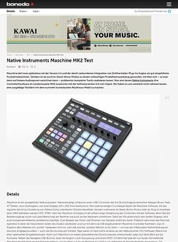 Bonedo.de Native Instruments Maschine MK2