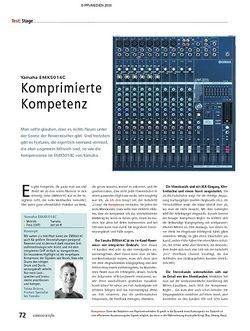 Soundcheck Test - Yamaha EMX5014C