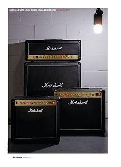 Guitarist Marshall DSL100H