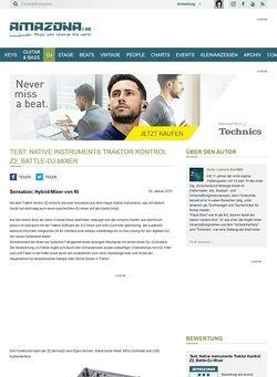 Amazona.de Test: Native Instruments, Traktor Kontrol Z2, Hybrid Mixer