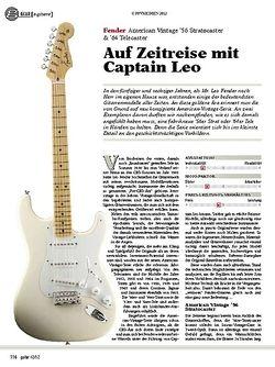 guitar gear E-Gitarre - Fender American Vintage '56 Stratocaster & '64