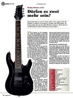 guitar gear E-Gitarre - Harley Benton R458