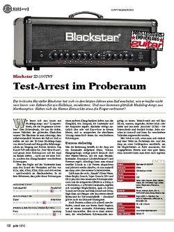 guitar gear Amp - Blackstar ID:100TVP