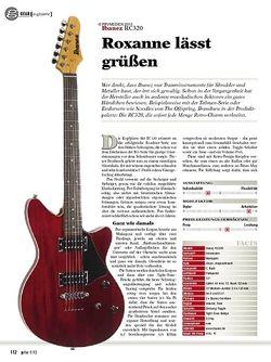 guitar gear E-Gitarre - Ibanez RC320