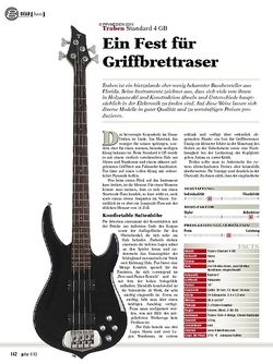 guitar gear Bass - Traben Standard 4 GB