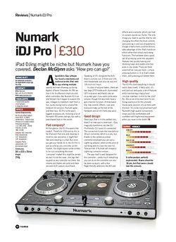 Future Music Numark iDJ Pro
