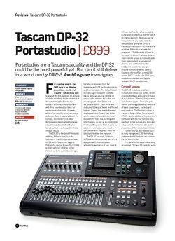 Future Music Tascam DP-32 Portastudio