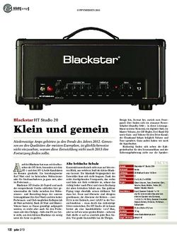guitar Blackstar HT Studio 20