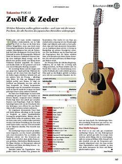 guitar Takamine P1JC-12