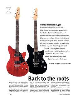 Gitarre & Bass Ibanez Roadcore RC320, E-Gitarren