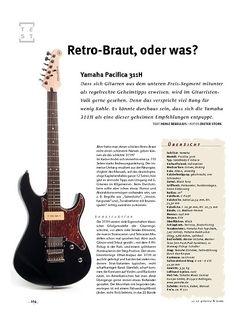 Gitarre & Bass Yamaha Pacifica 311H