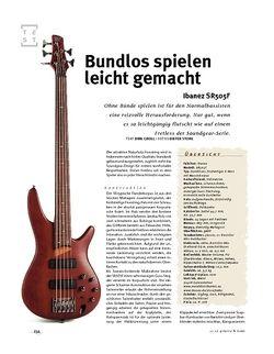 Gitarre & Bass Ibanez SR505F