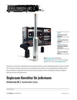 Sound & Recording IK Multimedia ARC-2 - Raumkorrektur-System